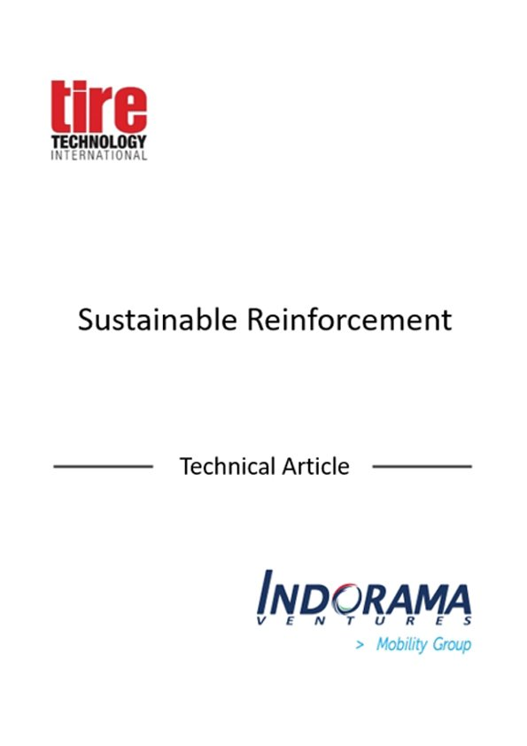 Sustainable Reinforcement (Technical Article) – Tire Technology International Magazine 2015