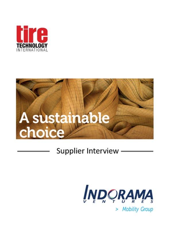 Supplier Interview – Tire Technology International Magazine October 2019